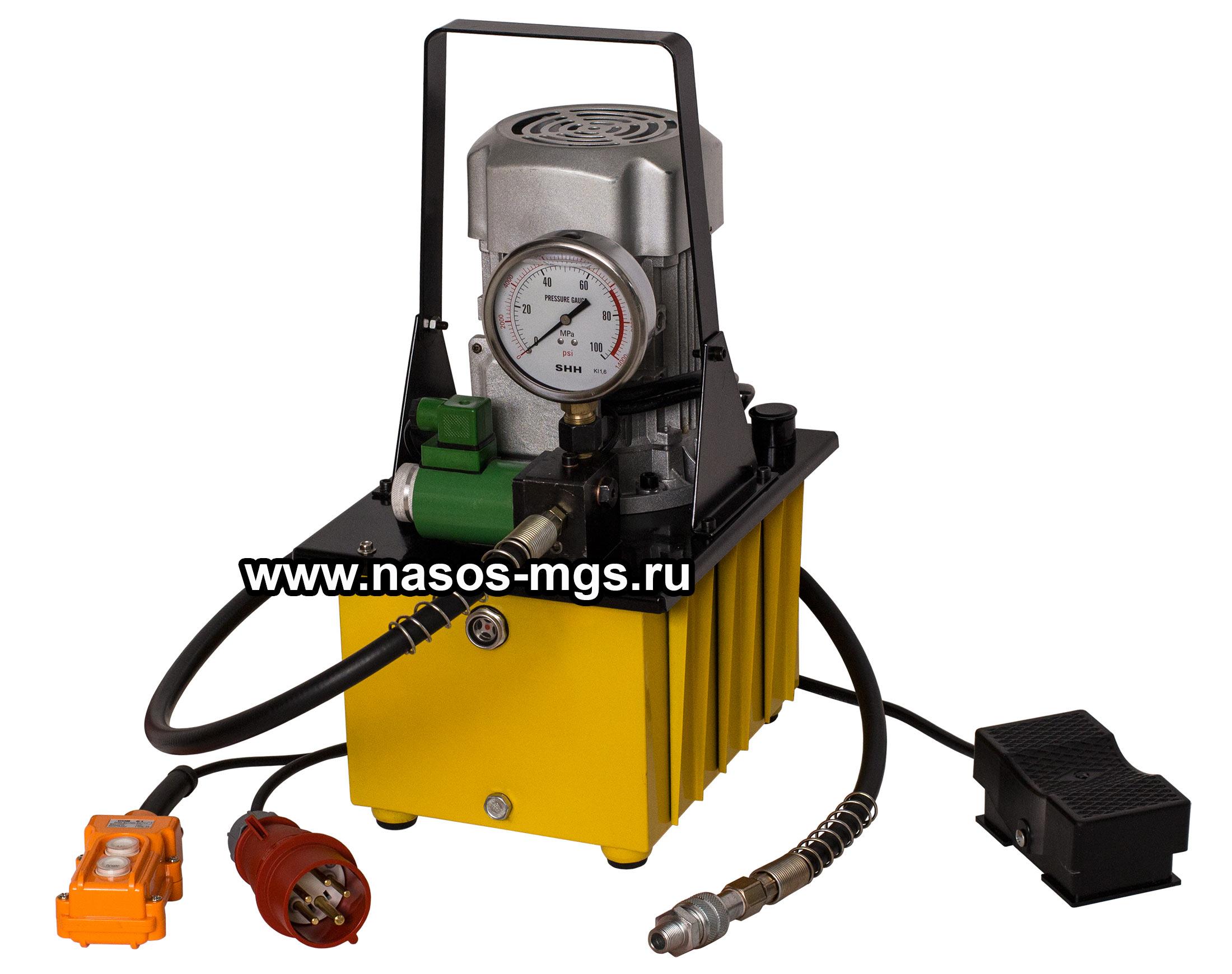 Гидростанции высокого давления с электроприводом, мобильные гидростанции Маслостанции